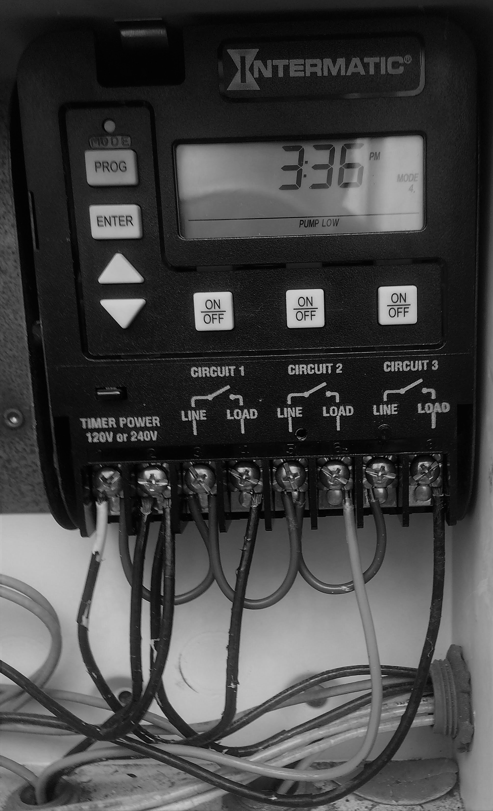 Crystal Clear Pools Jacksonville Fl Motor Speed Controller Circuit Electronic How To Connect The Intermatic Digital Timer Pe153